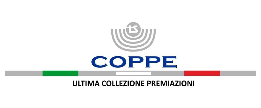 Coppe, ultima collezione premiazioni