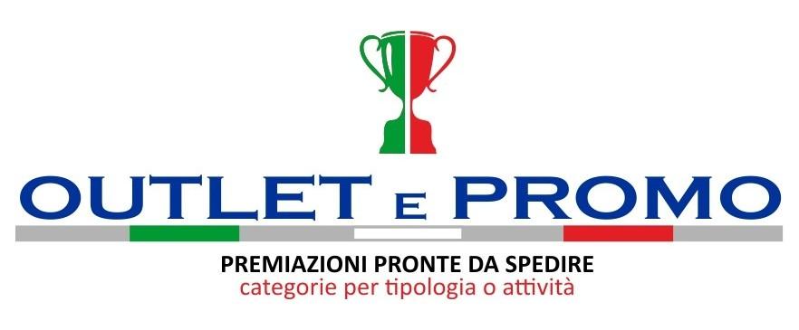 Outlet e promo, premiazioni pronte da spedire, categorie per tipologia o attività