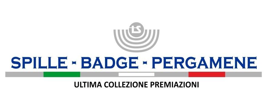 Spille badge pergamene, ultima collezione premiazioni